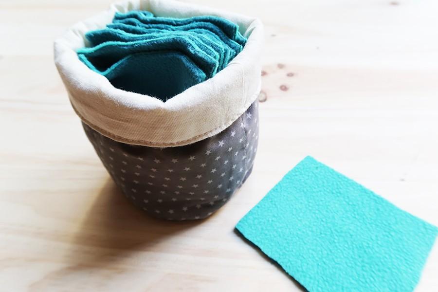 Tuto facile pour lingettes lavables