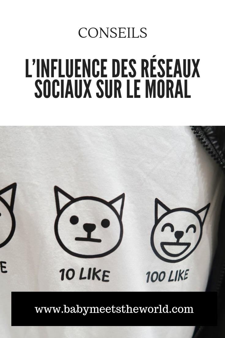 L'influence des réseaux sociaux sur le moral