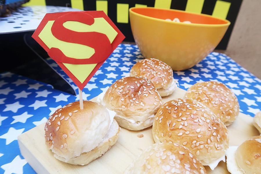 Le goûter d'anniversaire de Super-héros !