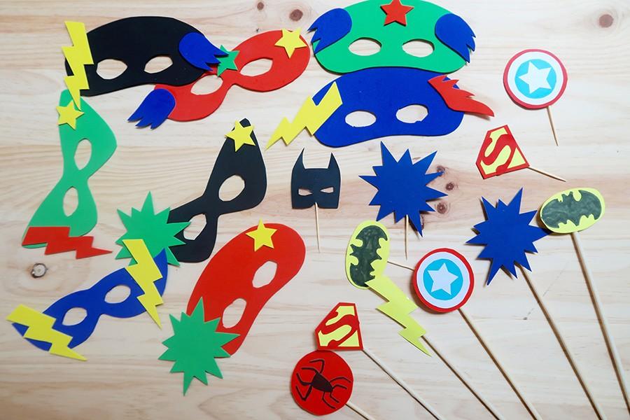 Le goûter d'anniversaire de Super-héros !  Le goûter d'anniversaire de Super-héros !  Le goûter d'anniversaire de Super-héros !  Le goûter d'anniversaire de Super-héros !