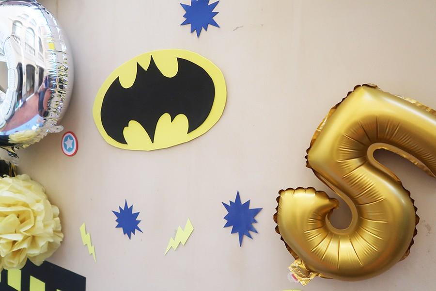 Le goûter d'anniversaire de Super-héros !  Le goûter d'anniversaire de Super-héros !