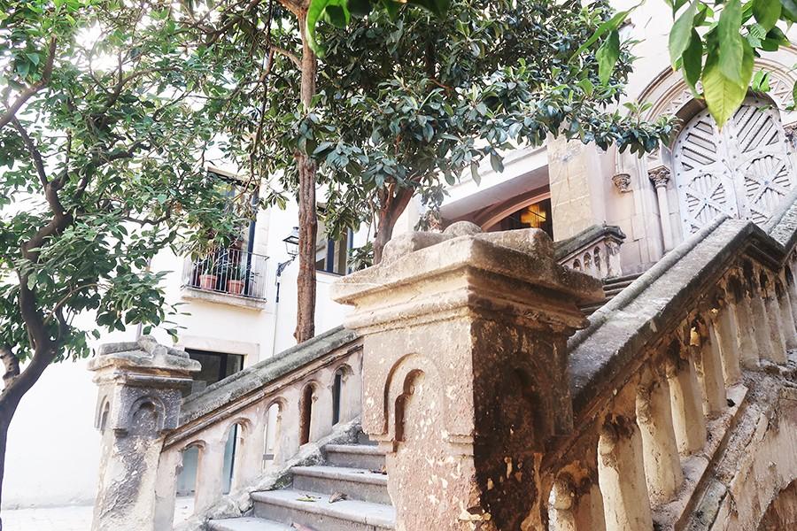 Un petit jardin secret au coeur de barcelone barcelone for Au jardin secret