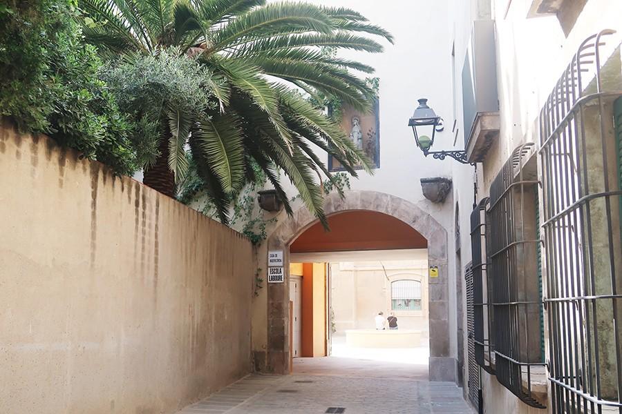 Un petit jardin secret au coeur de Barcelone