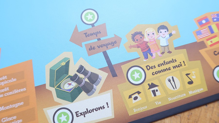 La mappemonde Interactive Leapfrog