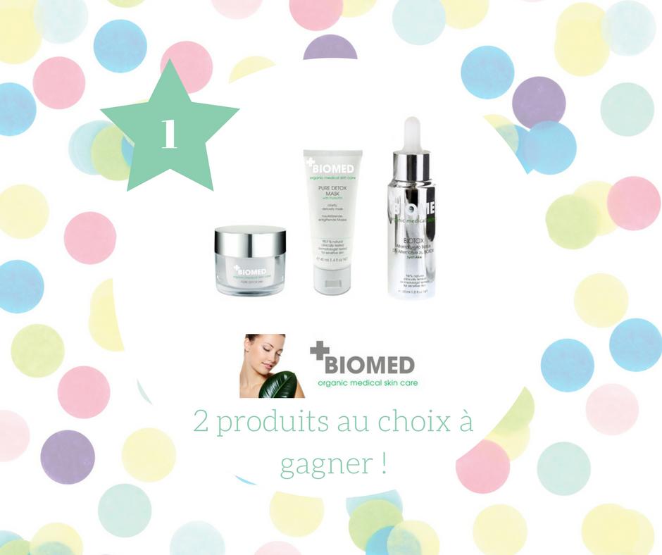 Les cosmétiques naturels Biomed : test, avis et concours !