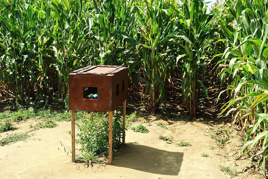 Nos vacances à Nantes : Le labyrinthe Pop corn