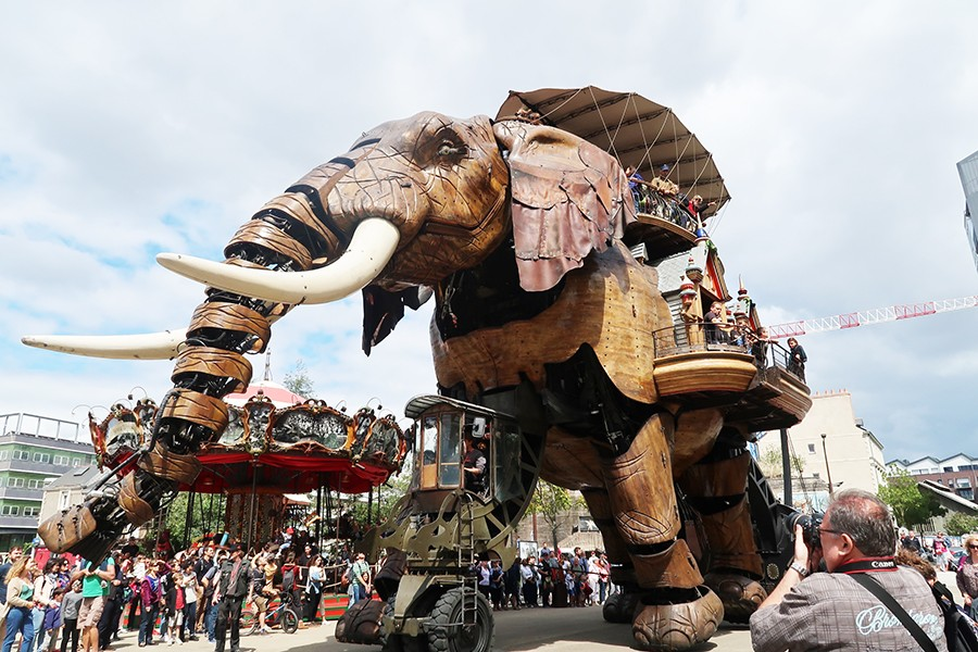 Nos vacances à Nantes : L'île et les machines de Nantes  Nos vacances à Nantes : L'île et les machines de Nantes