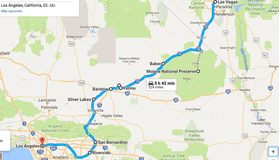 Itinéraire avec enfants dans l'ouest Américain