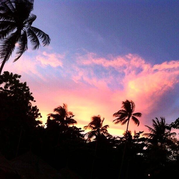 Bonne soire IG Les couchers de soleil de la Thailandehellip