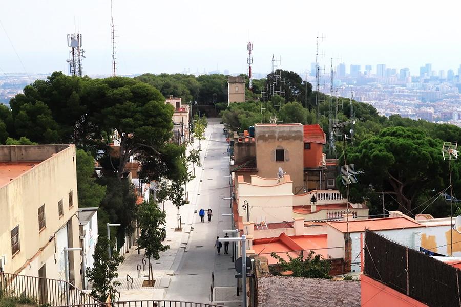 Les jolies vues de Barcelone : Bunkers del Carmel