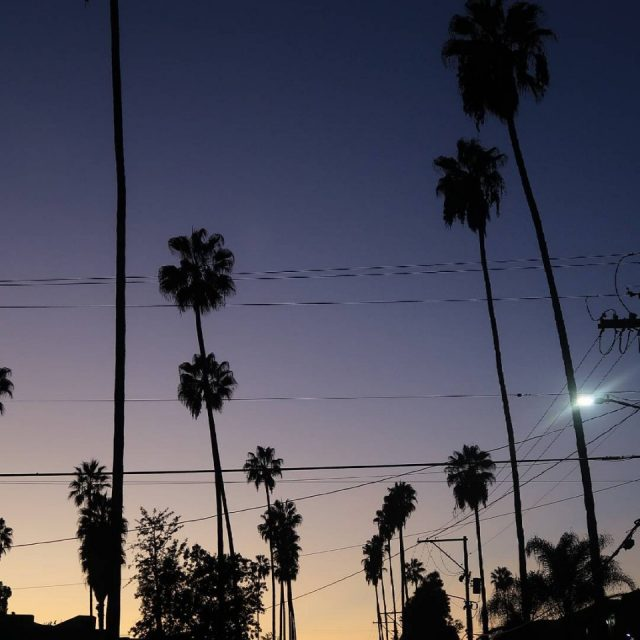 Sunset californien et ce dgrad de couleurs tellement joli !hellip