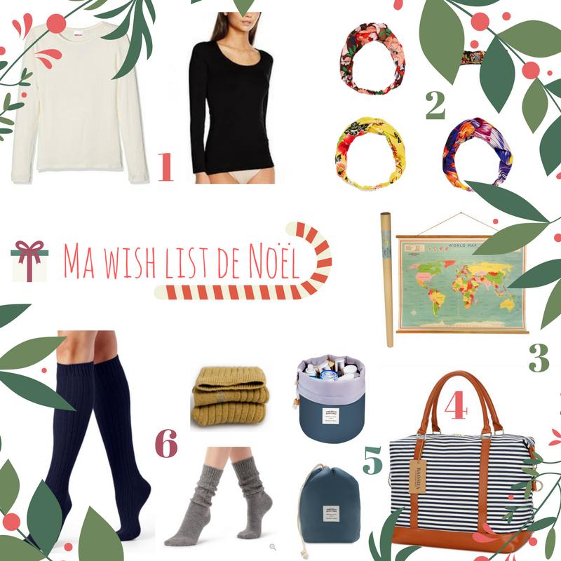Ma wish list de Noël !