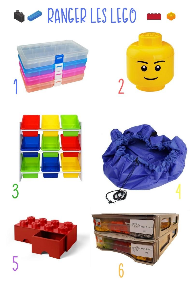Mais comment ranger tous ses Lego !