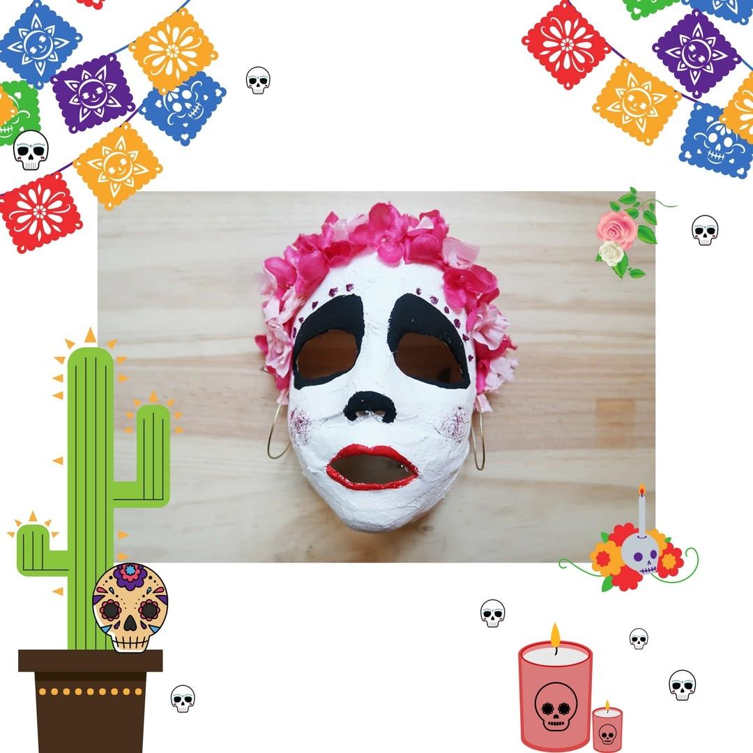 DIY un masque squelette Coco Disney  DIY un masque squelette Coco Disney
