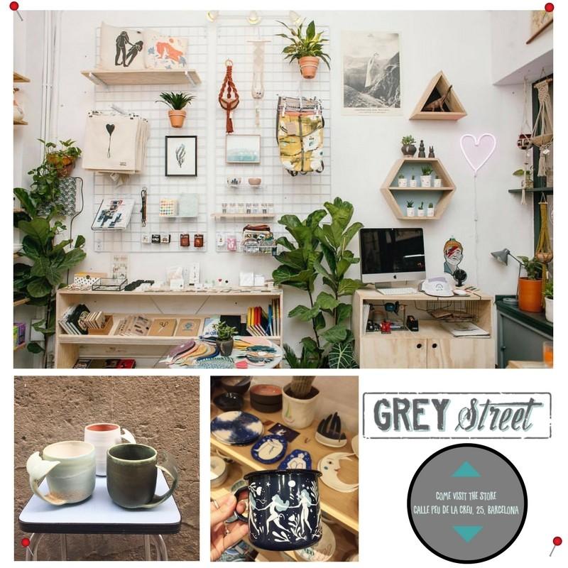 Coup de coeur à Barcelone : La boutique Grey street
