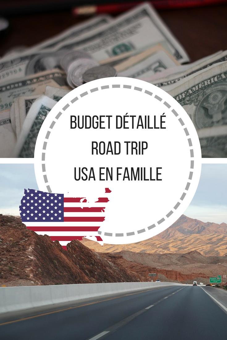 Notre budget road trip en famille sur la côte ouest des Usa