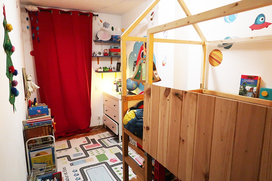 Une chambre pour deux dans 10m2