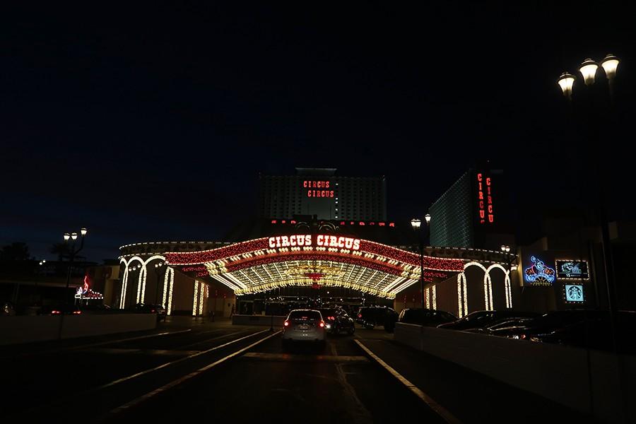 Las Vegas en famille