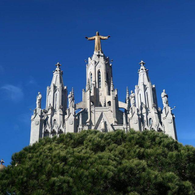 La petite balade du jour dans les hauteurs de Barcelonehellip