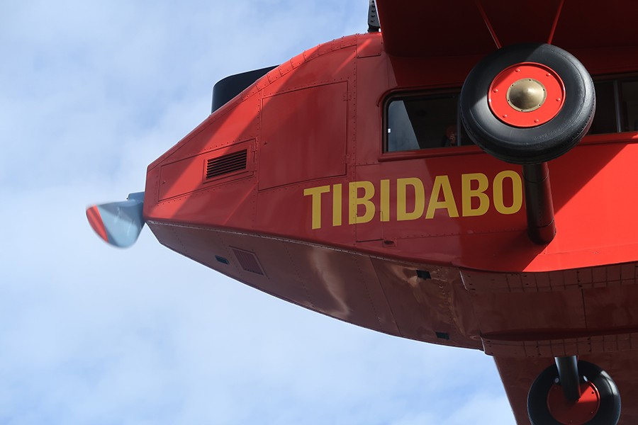 En route pour le Tibidabo