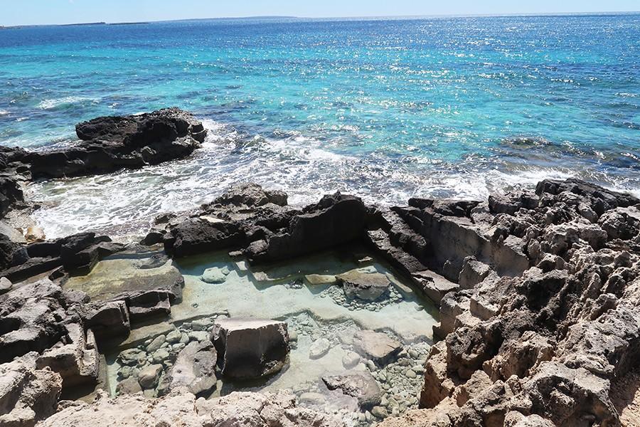 Jour 1 à Ibiza : notre arrivée et la plage des salinas