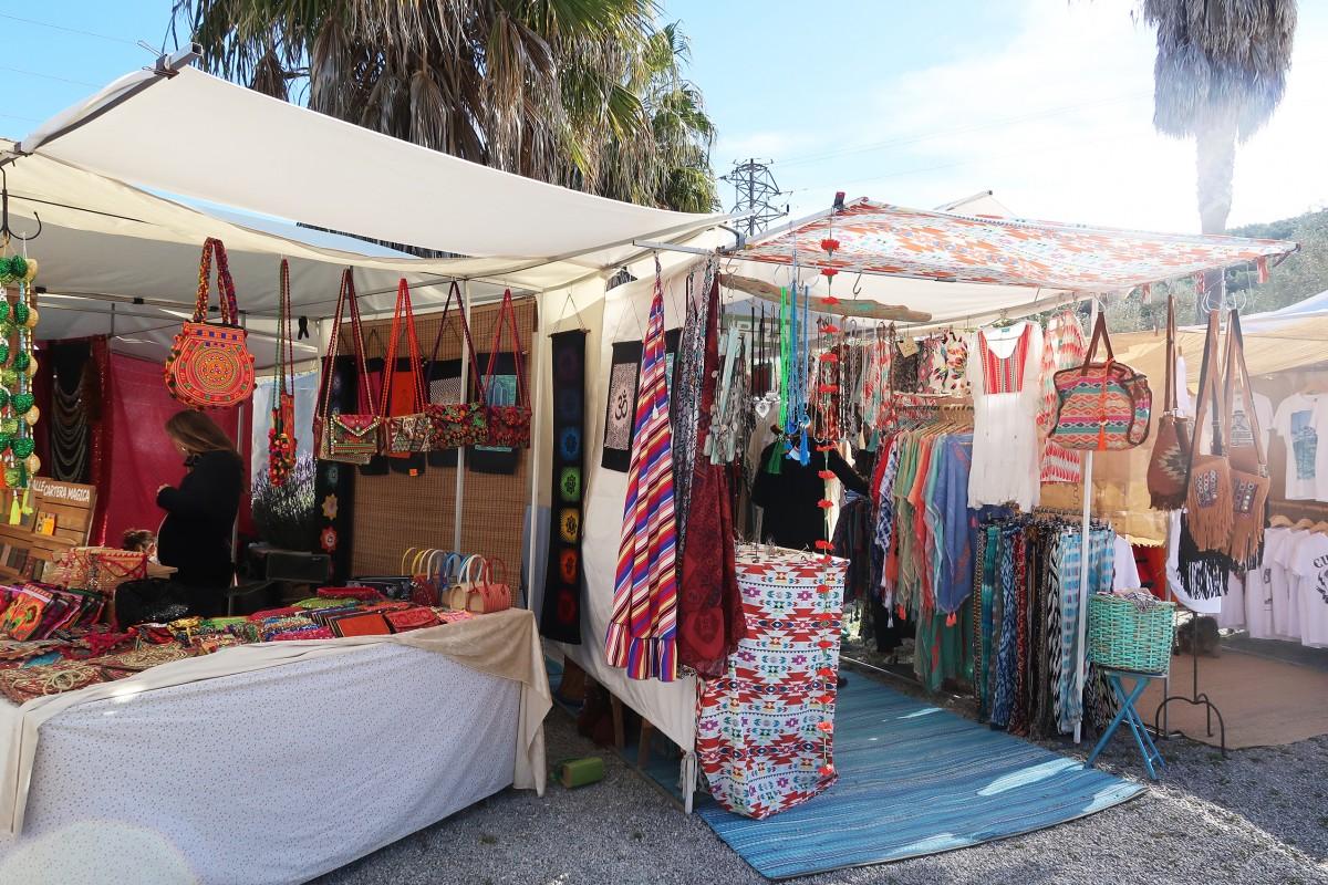 Ibiza jour 5 : playa d'en Bossa et marché Hippies las Dalias