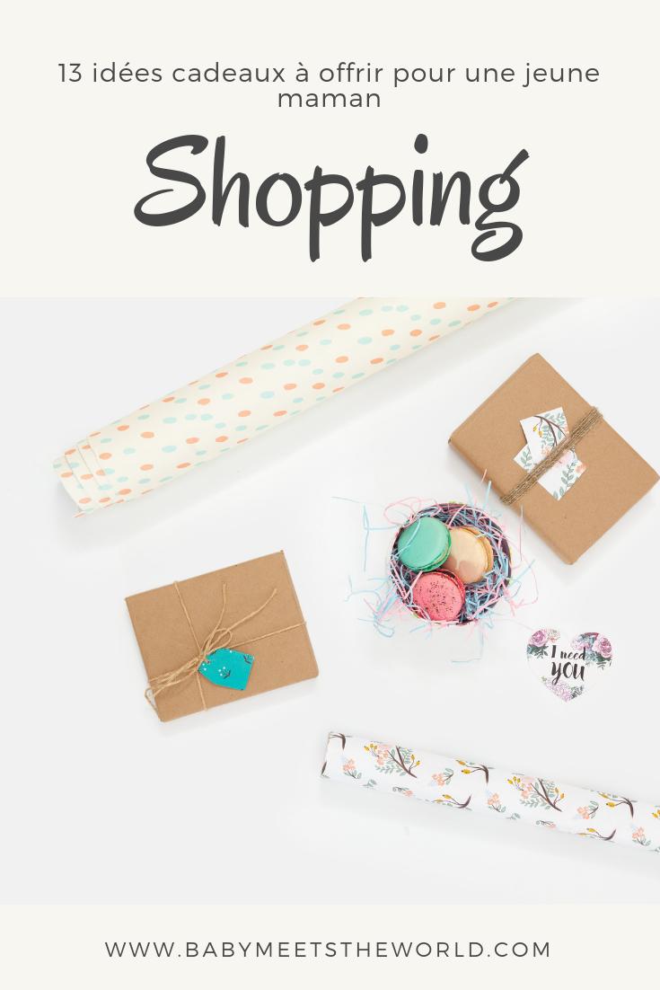 13 idées cadeaux à offrir pour une jeune maman !