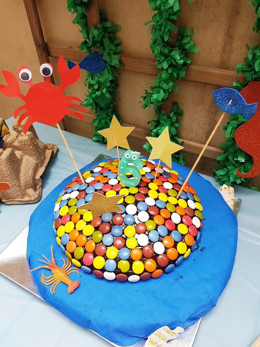 L'anniversaire des 6 ans de Mister A sur le thème de la mer