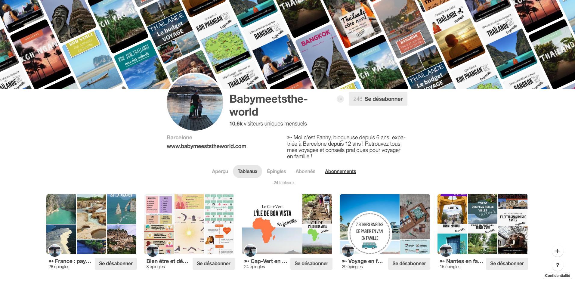 Organiser ses vacances facilement avec Pinterest
