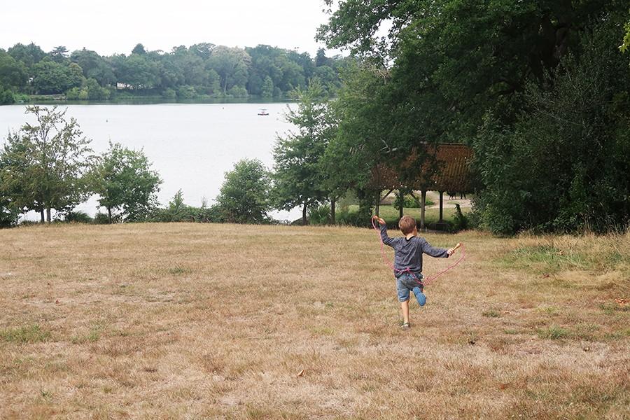 Nantes en famille : le parc de la Chantrerie