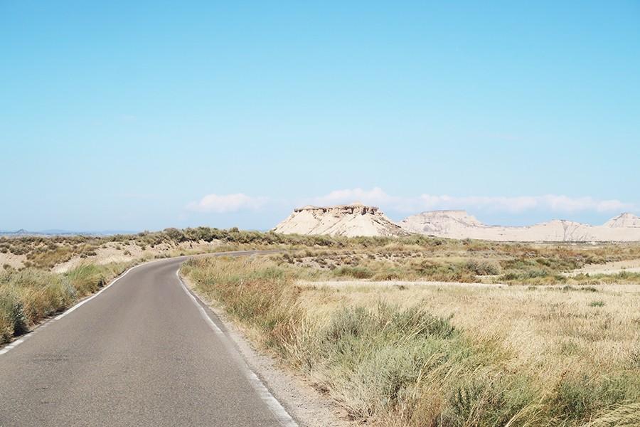Un road trip dans le désert de Bardenas