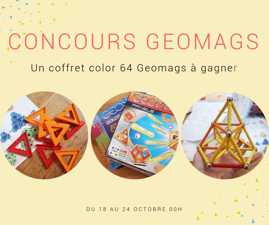 idées de cadeau pour noël : les Geomag / concours