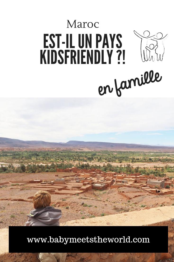 Le Maroc est-il un pays kidsfriendly ?!