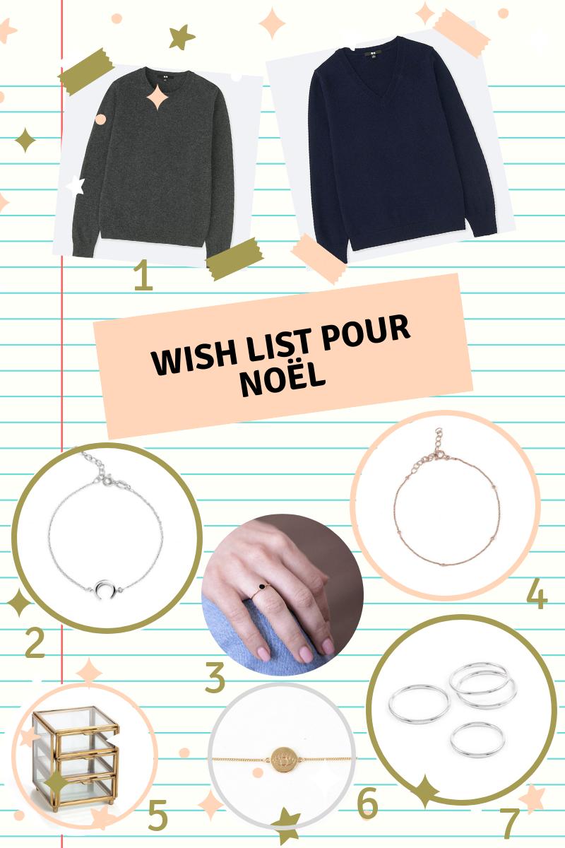 Ma wish list de Noël avec un peu (beaucoup !) de bijoux