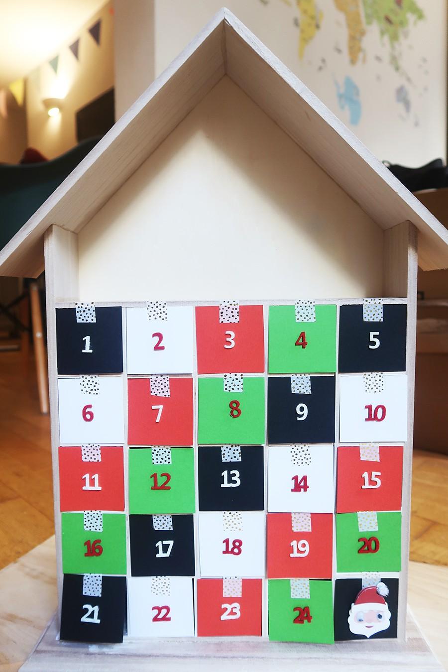 Notre calendrier maison + idées pour le remplir