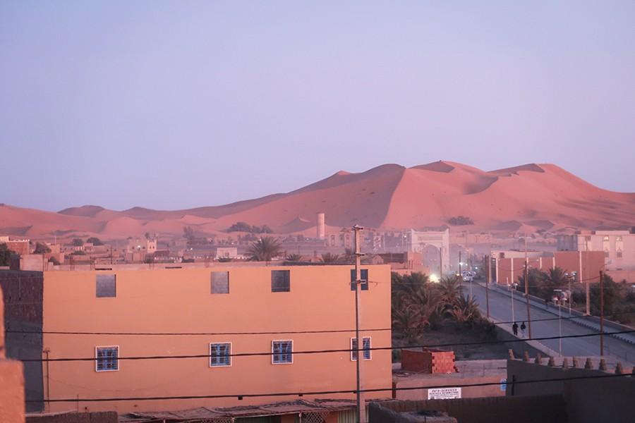 Une nuit dans le désert du Sahara