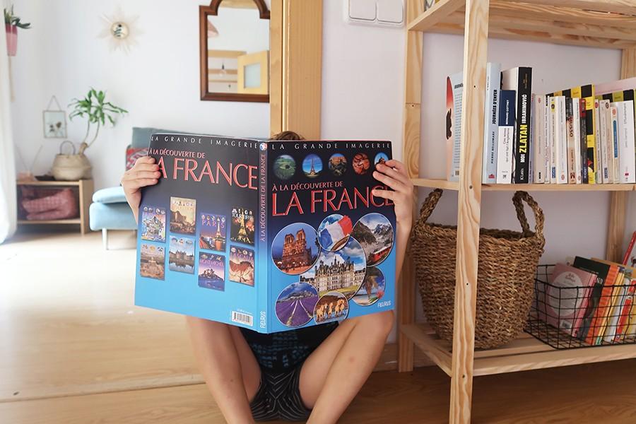 A la découverte de la France, le livre parfait pour les p'tits expats !
