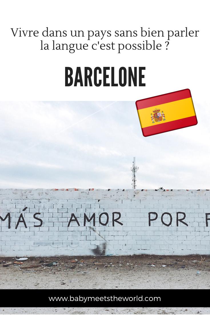 J'habite en Espagne et je parle très mal l'espagnol !