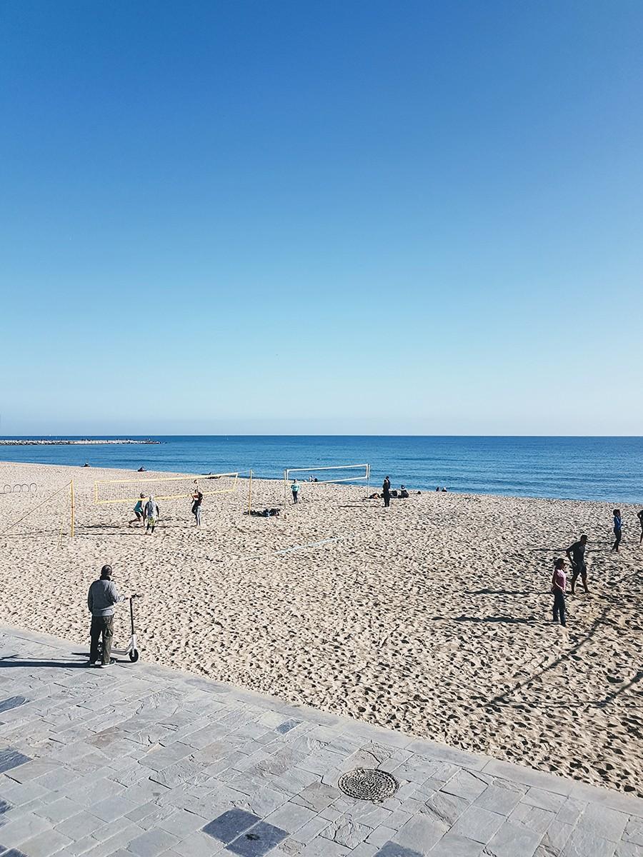 Idée de balade à Barcelone : Poblenou, la plage et le skate park