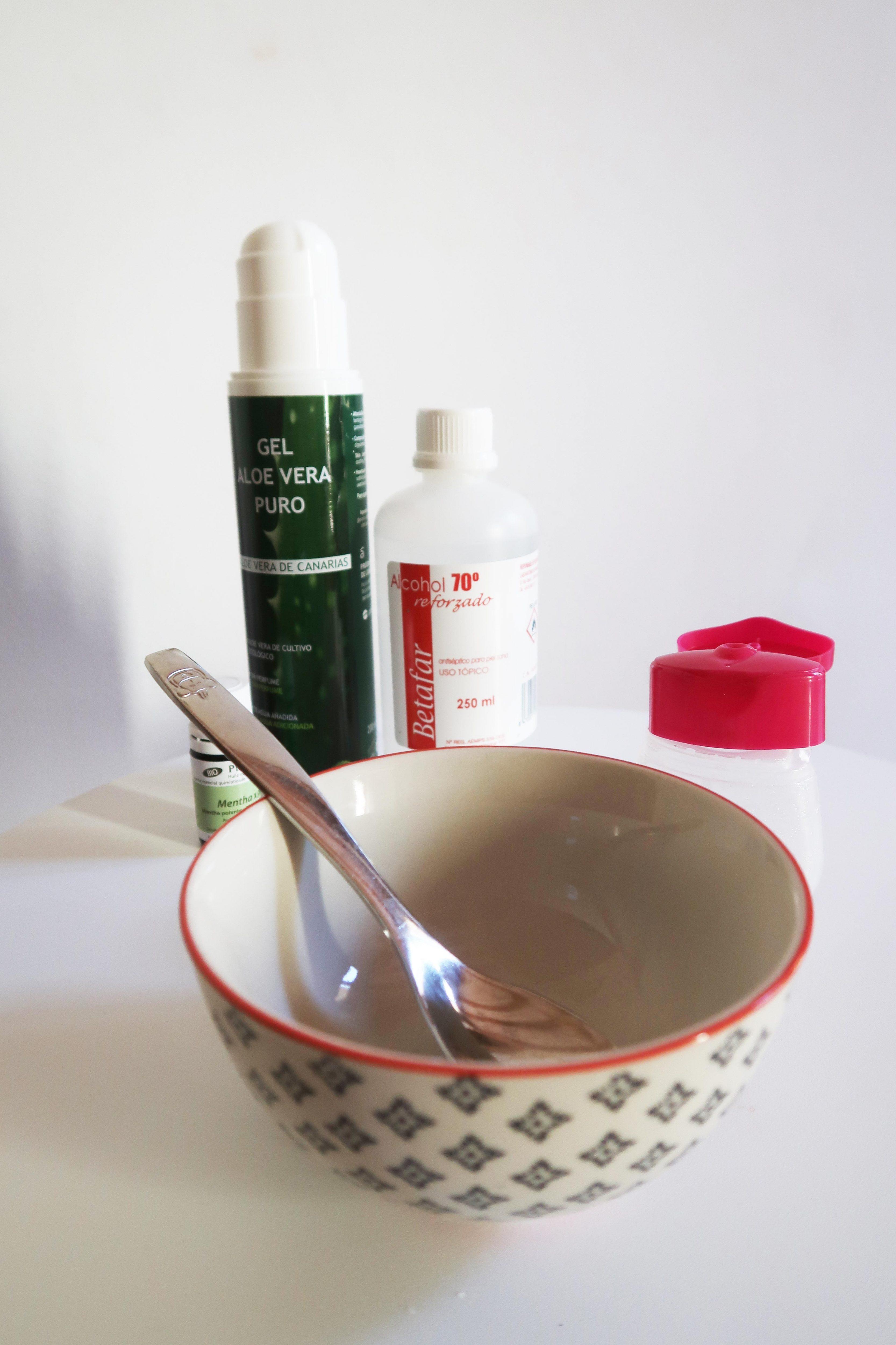 Gel anti-bactérien recette maison