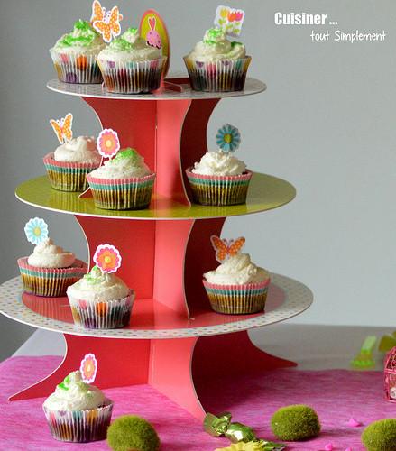 deco cupcake paques