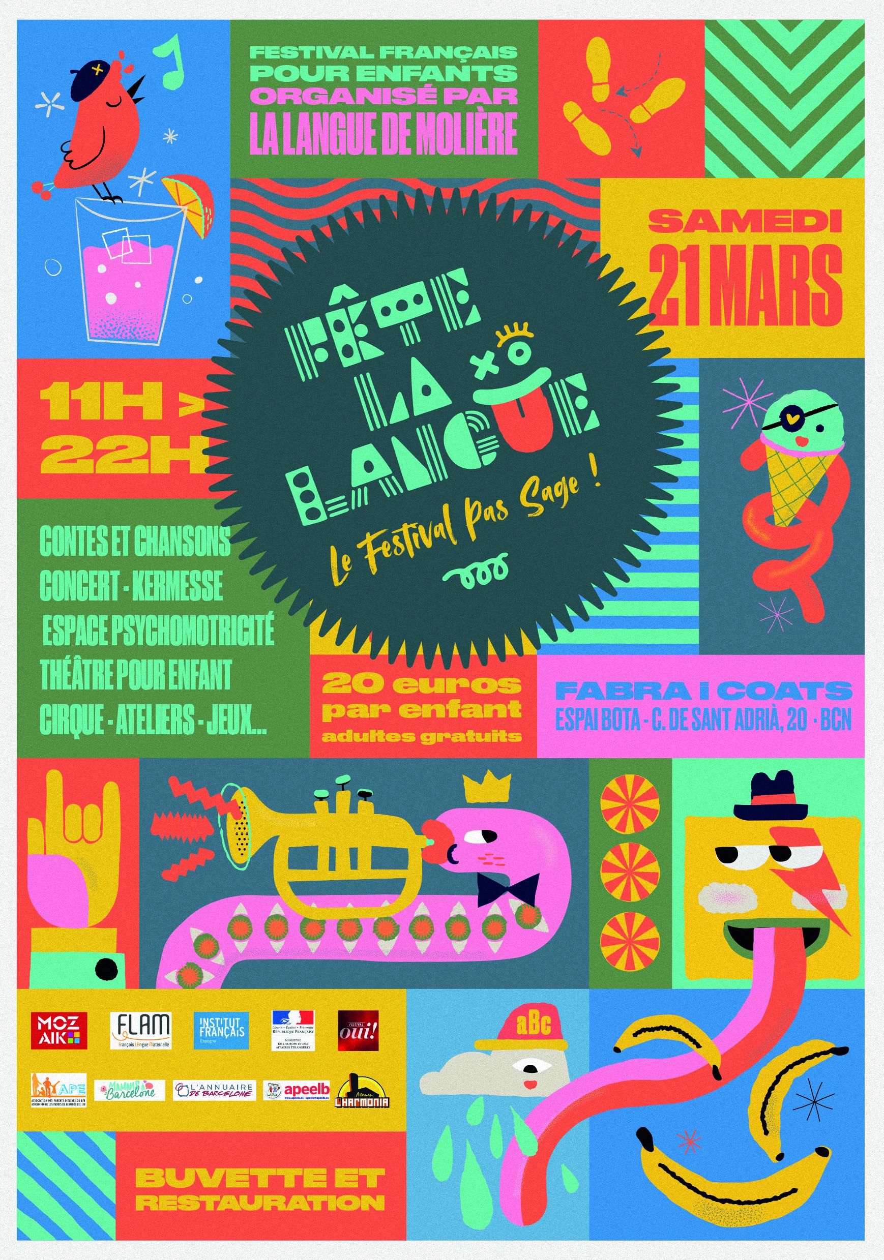Le 1er festival francophone pour les enfants à Barcelone