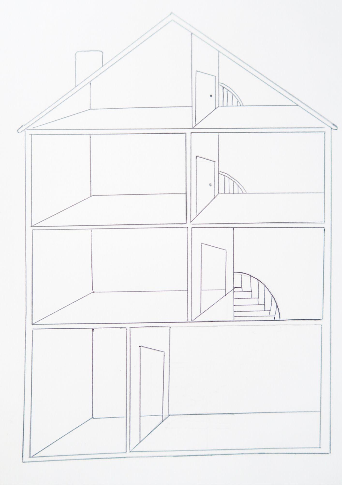 Créer sa propre maison sur papier (support à télécharger)