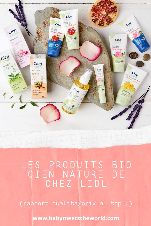 Les produits BIO Cien Nature de chez Lidl (rapport qualité/prix au TOP !)