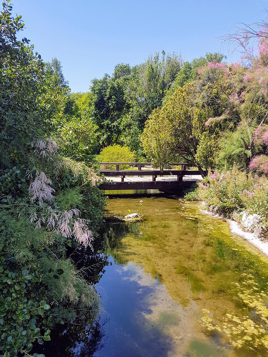 Balade à Barcelone : Jardins de Mossèn Cinto Verdaguer