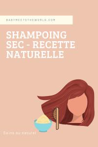 comment faire un shampoing sec fait-maison