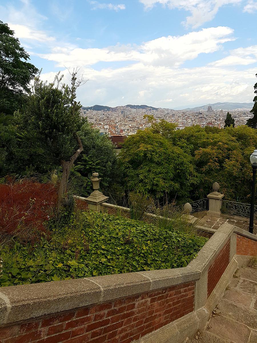 Balade à Barcelone : le jardin joan de Maragall