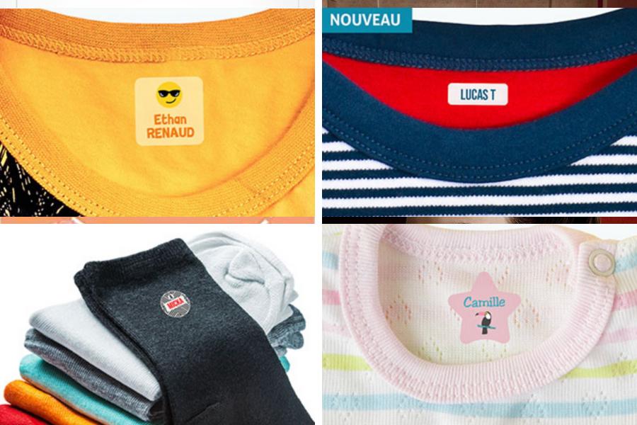 Comment ne plus perde les vêtements avec les étiquettes thermocollantes