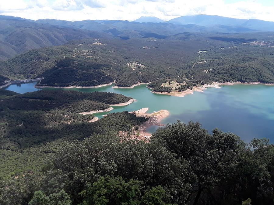 région du barrage de Sau