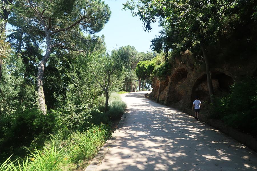 au milieu de la nature à barcelone